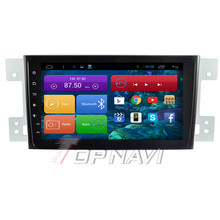 Quad Core Android 4.4 Car Stereo for Suzuki Grand Vitara With Mirror Link 16GB Flash GPS Free Map Wifi Bluetooth