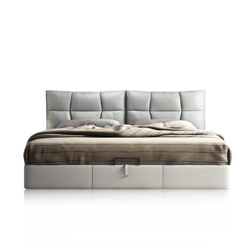 Matrimoniale Mobili Per La Casa Meuble Maison Yatak Letto A Castello Room Frame Leather De Dormitorio Mueble Cama Moderna Bed