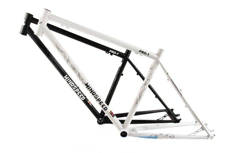 windspeed pro 1 steel mountain bike frame reynold 520 steel mtb bicycle frame 26 xc frame headsetseatpost clamprear hanger