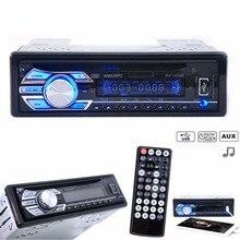 Denizaşırı Araba Stereo FM Radyo MP3 MP4 Ses Çalar Şarj USB SD AUX Oto Elektroniği In-Dash 1 DIN autoradio AUX-IN FM Radyo