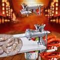 Envío Gratis Enema máquina picada Dispositivo de carne aluminio herramienta de cocina Manual DIY accesorios de procesamiento de alimentos