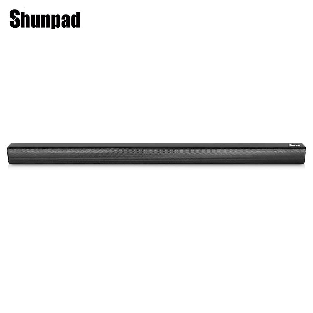 Shunpad N - S08H Wireless Bluetooth Soundbar Speaker Television Subwoofer Sound Support AUX In Optical Coaxial