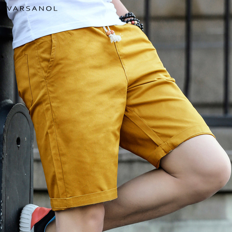 Varsanol Casual Shorts Men New 2018 Summer Fashion Cotton Breathable Male Brand Clothing Shorts Homme Bermuda Trousers Big Size