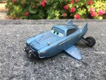 Carros de brinquedo, original disney pixar carros finn mcmissile com brecouro de luxo raro de metal fundido