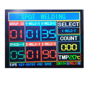 Image 3 - NY D08 Spot Welder Controller Pneumatic Color LCD Display Multi point Personalization