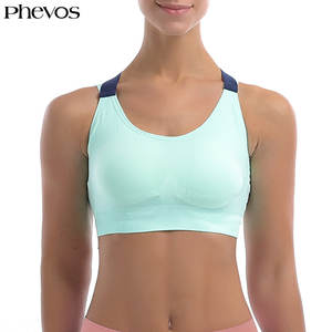 81b62bd2c Phevos Women Plus Size Sports Bra for Fitness Yoga Running Breathable Sport  Bra Top Shockproof Sport Bra Sujetador Deportivo