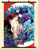Anime Ao no Exorcist Blue Exorcist Poster Wall Scroll Japan