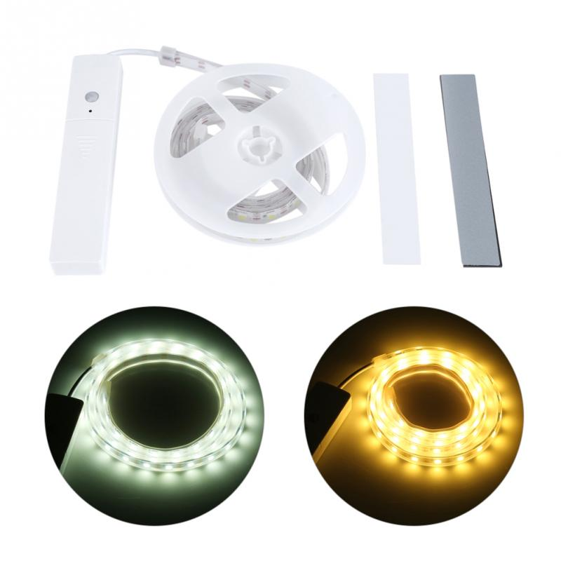 Lights & Lighting Led Strips Cooperative 60led Strip Light Automatic Human Infrared Sensing Motion Sensor Led Strip Night Light Cool/warm Light Packing Of Nominated Brand