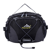 Sports Waist Bag Multi-function Unisex Package Outdoor Waterproof Bags for Travel Climbing Black