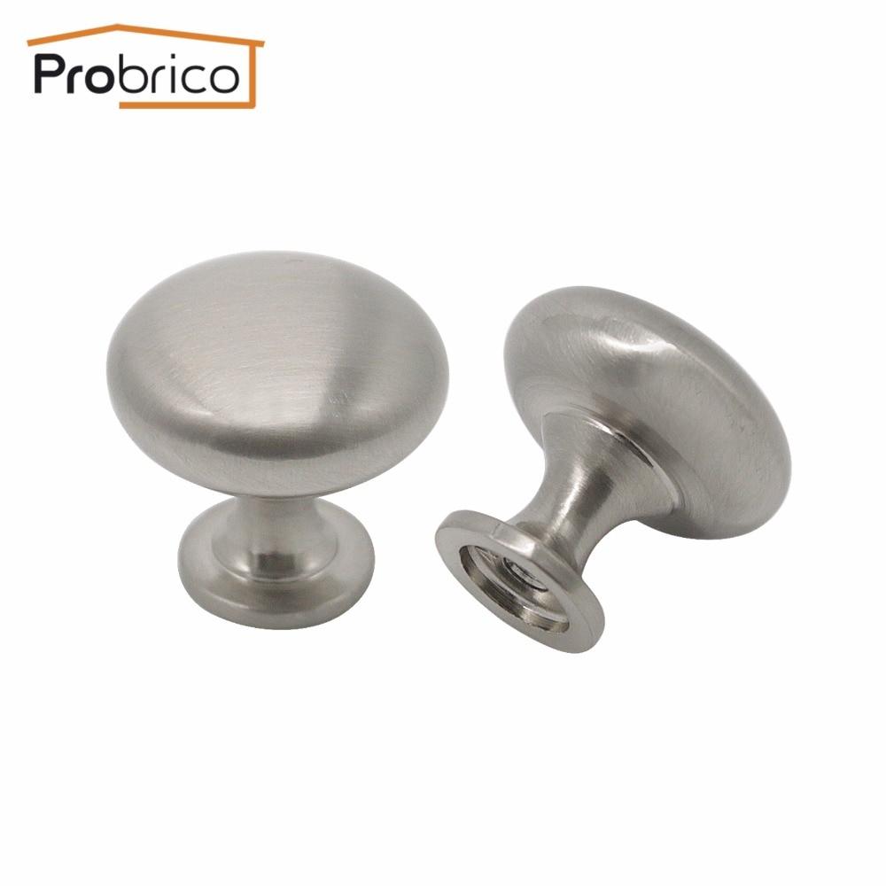Probrico 1 STÜCKE Solide 30mm Küchenschrank Knopf Schwarz/Nickel ...
