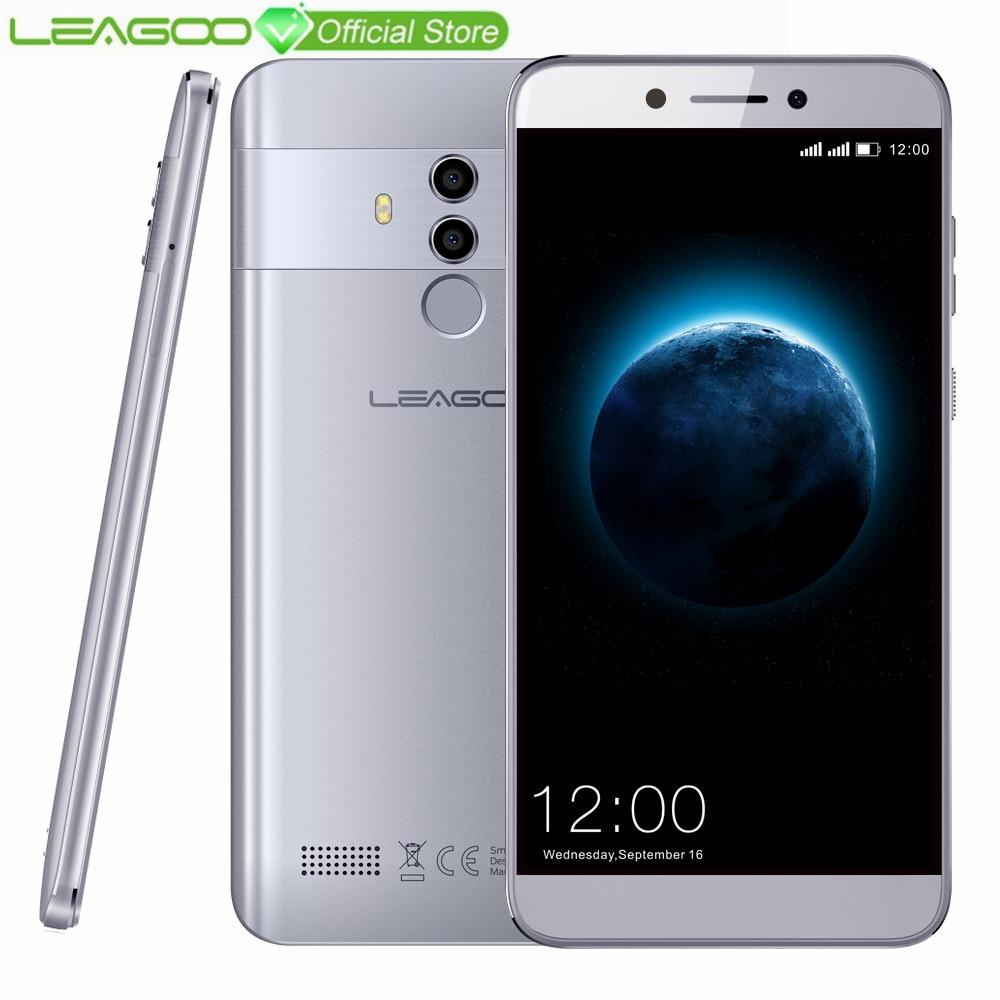 LEAGOO T8 4G Smartphone 5.5»FHD 16:9 Screen 1920*1080 RAM 2GB ROM 16GB Android 8.1 MT6750T Octa Core Face ID 13MP Mobile Phone