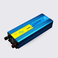 Car Power Inverter 1500W Pure Sine Wave Inverter Dual LED Display Inverter 12v 220v 24V 110V