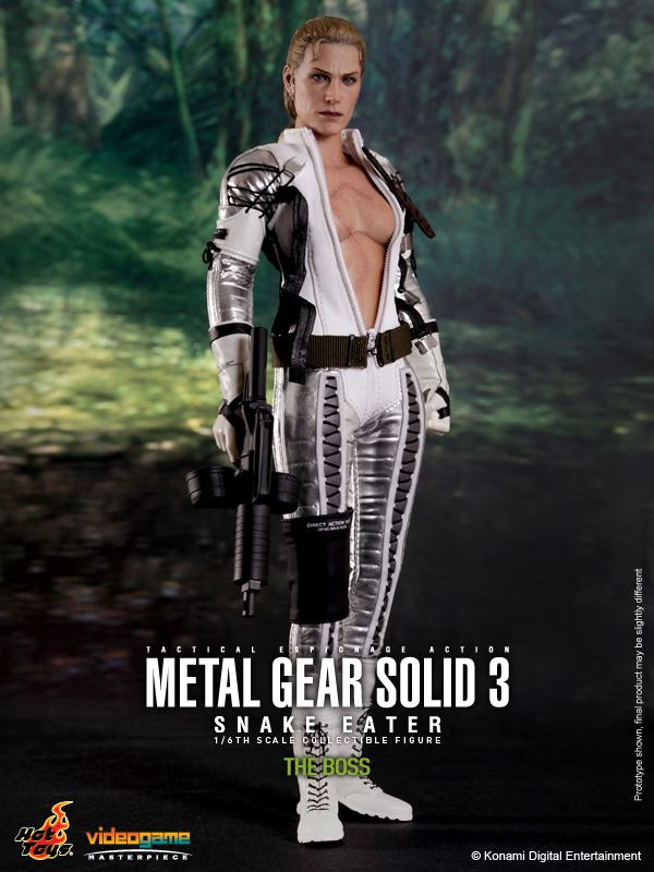 1/6 scale Collectible figure doll Metal Gear Solid 3 Snake Eater the boss 12 action figures doll Plastic Model Toys metal gear solid action figure sons of liberty figma 298 soldier pvc toy 16cm anime games figures snake collectible model doll
