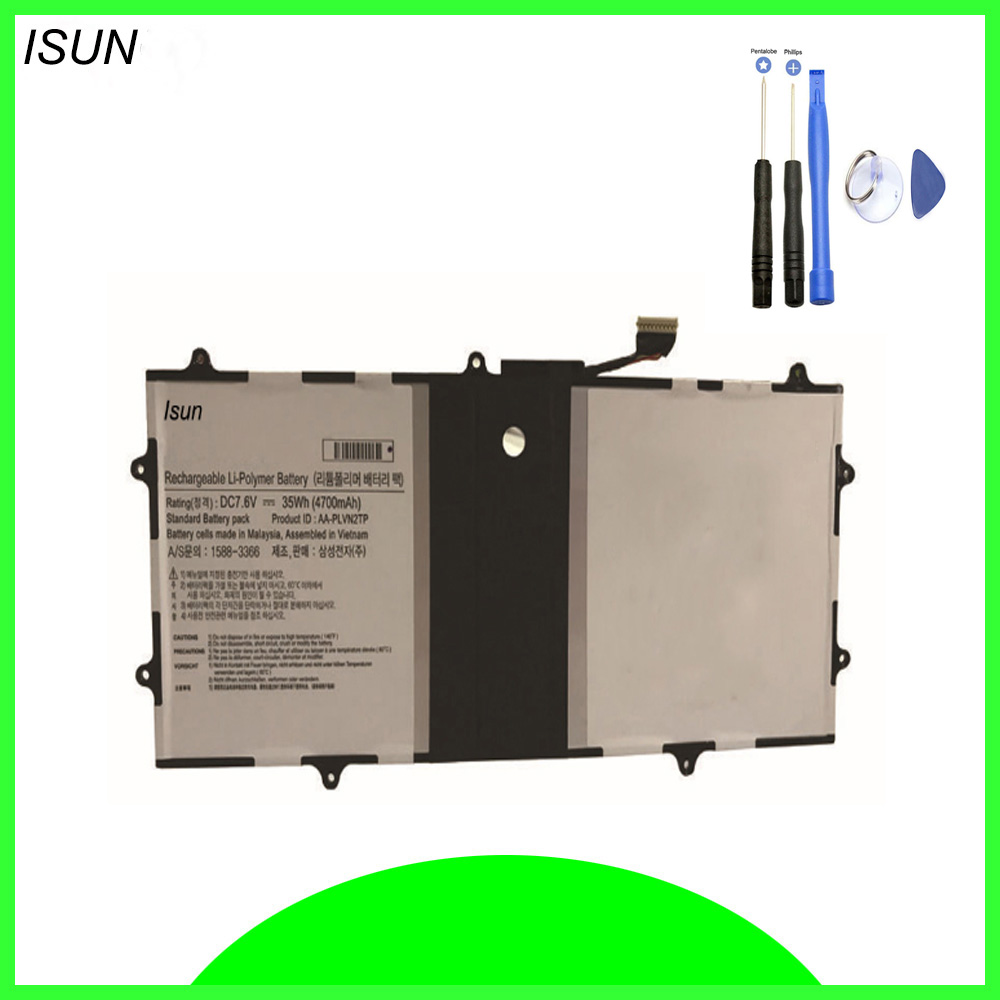 ISUN Battery Replacement For Samsung Chromebook 2 13.3 Series AA-PLVN2TP 1588-3366 with free repair tools