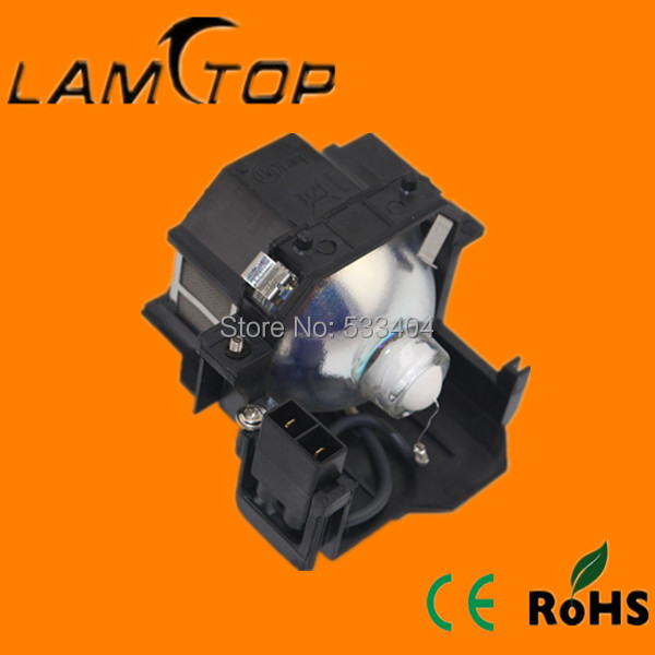 Free shipping  LAMTOP projector  lamp  with housing/cage  for   EB-S62 free shipping new projector lamps bulbs elplp55 v13h010l55 for epson eb w8d eb dm30 etc