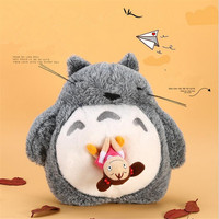 Cute Snoring And Sound Anime Totoro Plush Toys Stuffed Animals Totoro Doll Soft Toys For Children Stuffed Toy Girl Birthday Gift