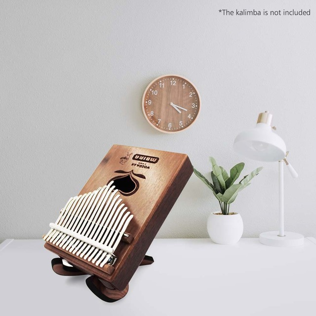 Portable Wooden Thumb Piano Stand Holder Kalimba Bracket for 10 key 17 key Kalimbas