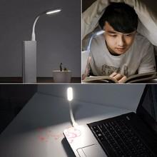 цена на 2018 Ultra Bright Flexible LED flashlight  Lamp for Notebook Computer Laptop PC Foldable Portable Metal Neck USB LED Night light