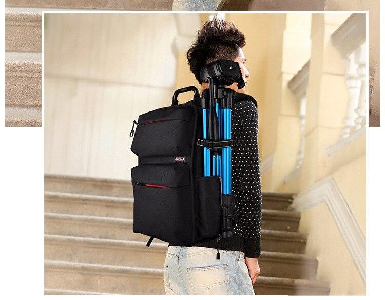 SY15-BLACK Professional Waterproof Outdoor Bag Backpack DSLR SLR Camera Bag Case For Nikon Canon Sony Pentax Fuji