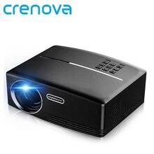 Crenova GP80 de Cine En Casa Proyector Portátil HDMI USB 1080 P HD Cine Mini Proyector Proyector LED LCD de Video de la PC