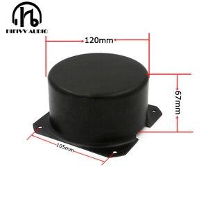 Image 1 - HIFivv audio toroidal transformer circular cover the external size is 120*67mm balck metal Metal Shield cover