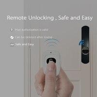 Мы замок цилиндр Keyless Биометрические Смарт приложение пальцев замок электронный Главная безопасности цифровой замок для домашнего офиса