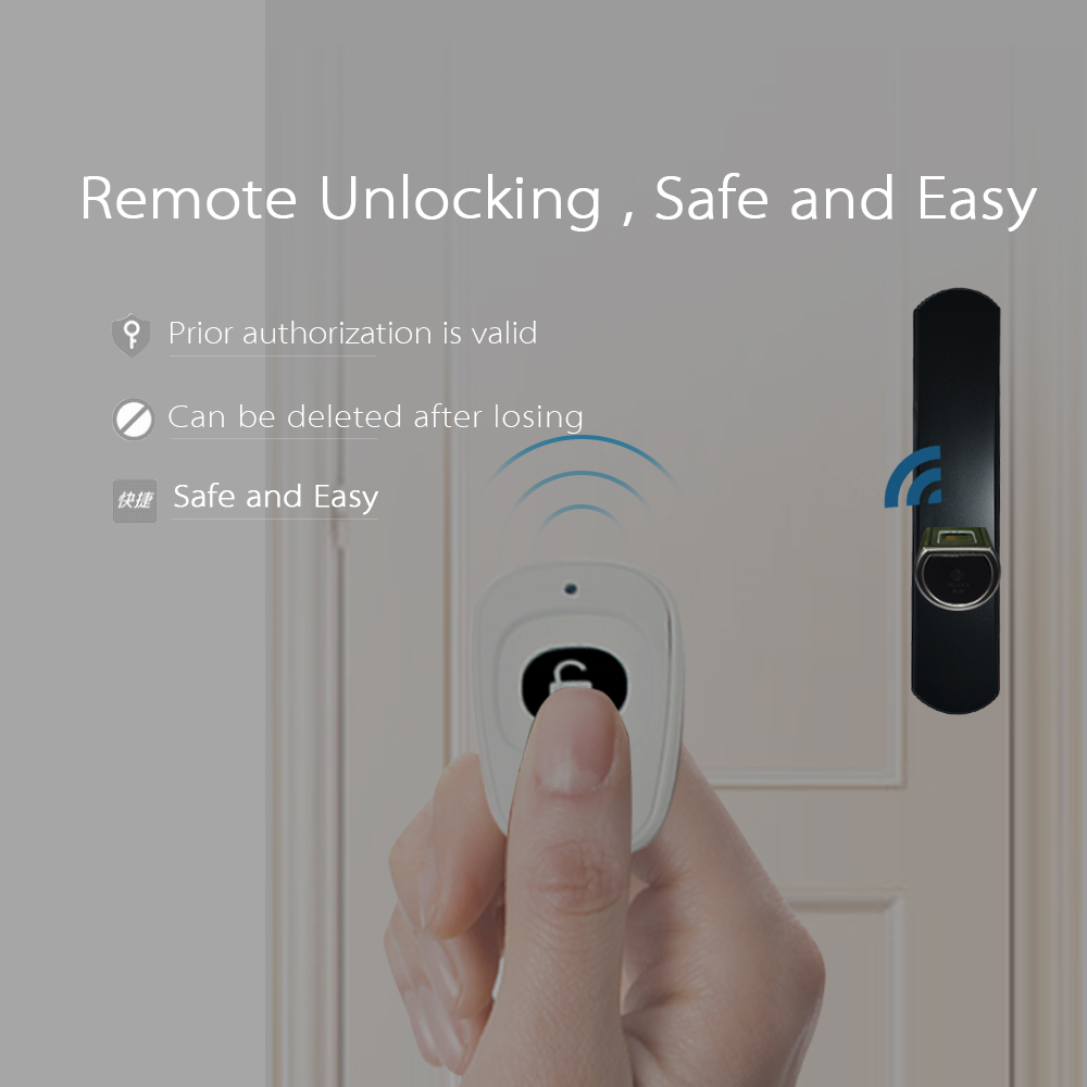 We Lock Cylinder Keyless Smart biometric App fingerprint door lock home security electronic digital door lock for home office 2017 high security wireless electronic door lock biometric smart door lock digital touch screen keyless fingerprint door lock