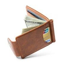 Men's Slim Leather Wallet