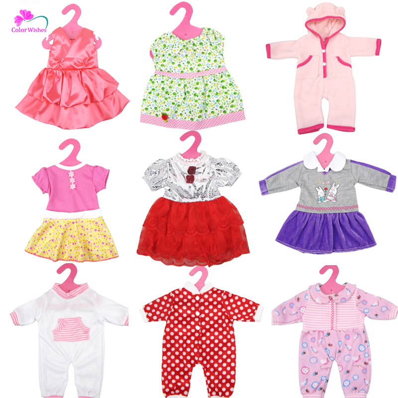 yarn skirt clothes/dress for Doll 45cm american girl and baby born doll accessories american girl doll clothes elegant color flower print long dress doll clothes for 18 american girl best gift 5 colors d 2