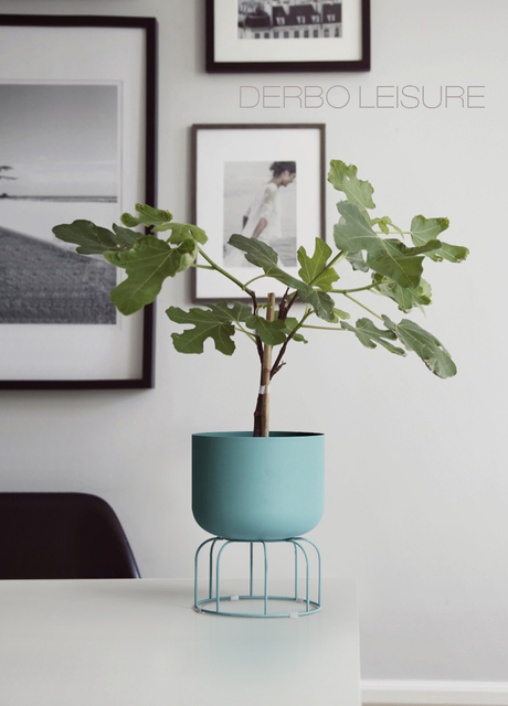 Classic Modern design Loft Metal floor Stand Side Flower Plants Shelf Rack storage, luxury fashion popular decoration racks 1PC 5