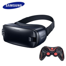 Samsung Gear VR4 3D Virtual Reality Glasses 100% Original Support Note5, S6 edge+, S7, S7 edge,Note7+Bluetooth Remote Controller