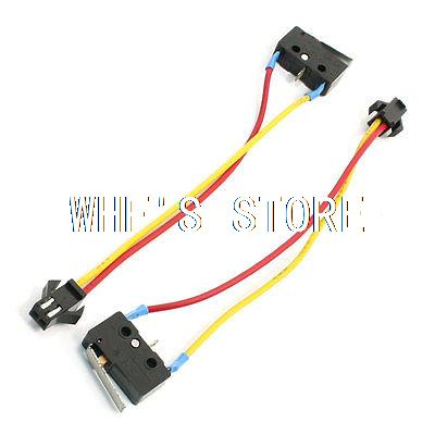 2pcs 5A 250VAC 2 Pin Female Ignition Momentary Gas Stove Micro Switch gas stove micro switch stoves accessories ignition switch gas stove valve thermocouple accessories switch