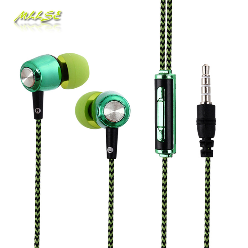 2017 Hifi Stereo Earphones 3.5mm In Ear Wire Control Earphone with Mic for Xiaomi Samsung Iphone Smartphones PC MP3 MP4 Gift s6 3 5mm in ear earphones headset with mic volume control remote control for samsung galaxy s5 s4 s7 s6 note 5 4 3 xiaomi 2