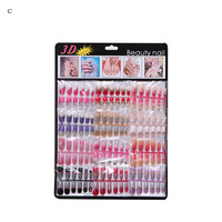 OutTop 144pcs Mixed Set False Nail Tips Artificial Fake Nails Art Acrylic Manicure Gel best seller#30