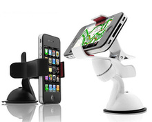 HATOLY 360 Degree Universal Phone Holder For Apple iPhone 8 Plus Plastic Support Telephone Voiture For