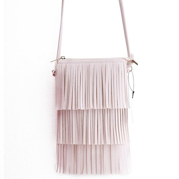 Hot Sale Mini Tassel Bags Women Messenger Bag Ladies Crossbody Handbag Vintage Small Phone Bag Bolsa Feminina clip art