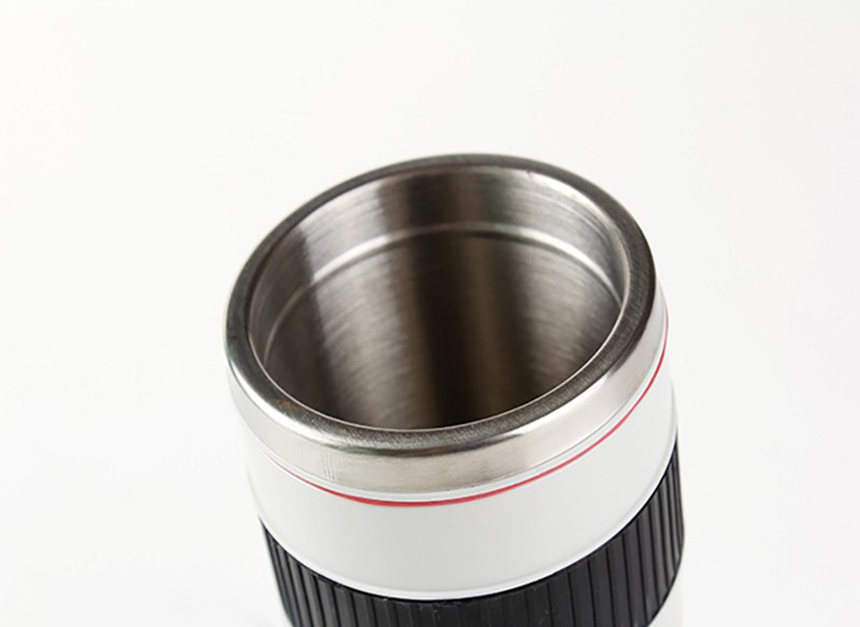 Camera Shaped Stainless Steel Coffee Cup