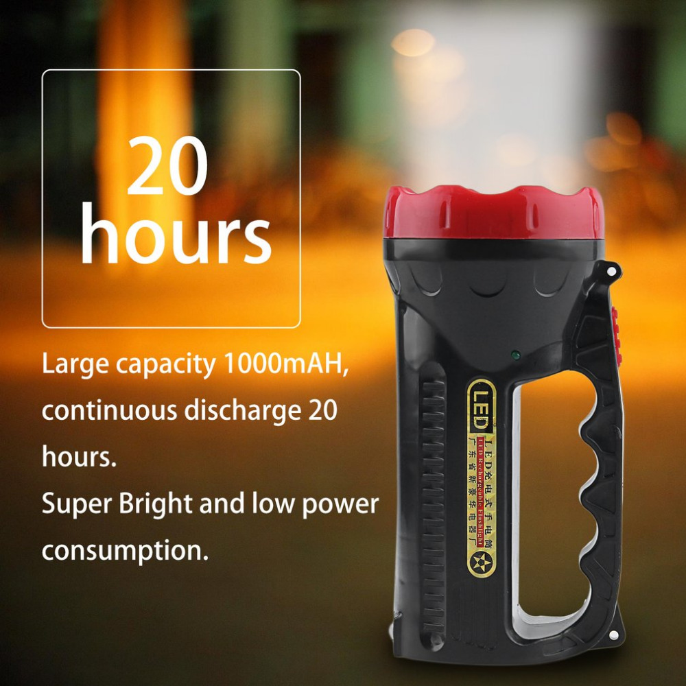 LED Flashlight Outdoor Camping Hiking Super Bright Charging Portable Light Torch Light Nine Lamp Head 1000mAH Top Sale uniquefire uf 1200 super bright cree u2 lamp flashlight light from outdoor hiking night fishing hunting led flashlight