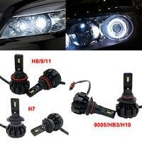 Super Bright V1 Automobile HA CONDOTTO Canbus H1 H3 H7 H11 9005/HB3 9006/HB4 6000 K Nebbia Lampada H4 Hi/Low Auto Luce Anteriore Del Faro Kit 60 W