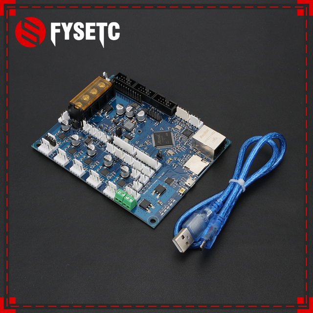 Latest Version Cloned Duet 2 Maestro Advanced 32bit Motherboard With Connected For 3D Printer CNC Machine