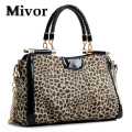 HOT 2016 Leopard bag Fashion women handbag Designer tote crossbody bag women messenger bags satchel bolsas femininas Wholesale