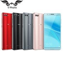 Оригинальный Huawei Nova 2 S 4 г мобильный телефон 6.0 дюймов KIRIN 960 Octa core 2160×1080 P двойной спереди и сзади Камера отпечатков пальцев NFC телефон