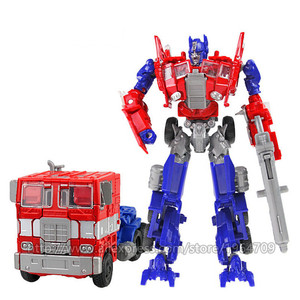 Image 2 - COOL Transformation Toys For Children Movie 5 Series Plastic ABS + Alloy Anime Action Figure Model Robot Car Toy Boy Kids Gift