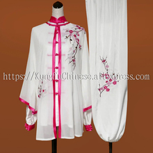 Chinese Tai chi clothing Martial arts suit kungfu uniform taiji clothes outfit for women men children boy girl kids adults