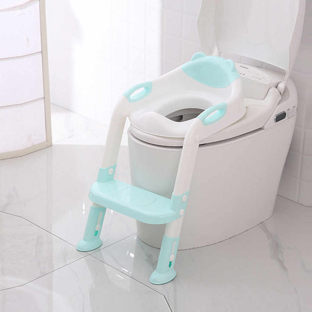 Baby Potty Infant Toilet Child Potty Children Portable Toilet Ring Baby Outdoor Travel Potty Folding Chair Baby Toilet Seat New