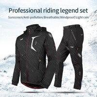 Колеса до 2017 Vélo Водонепроницаемый и ветрозащитный зимний Для мужчин спортивная форма MTB горный велосипед спортивный костюм Cube Костюмы