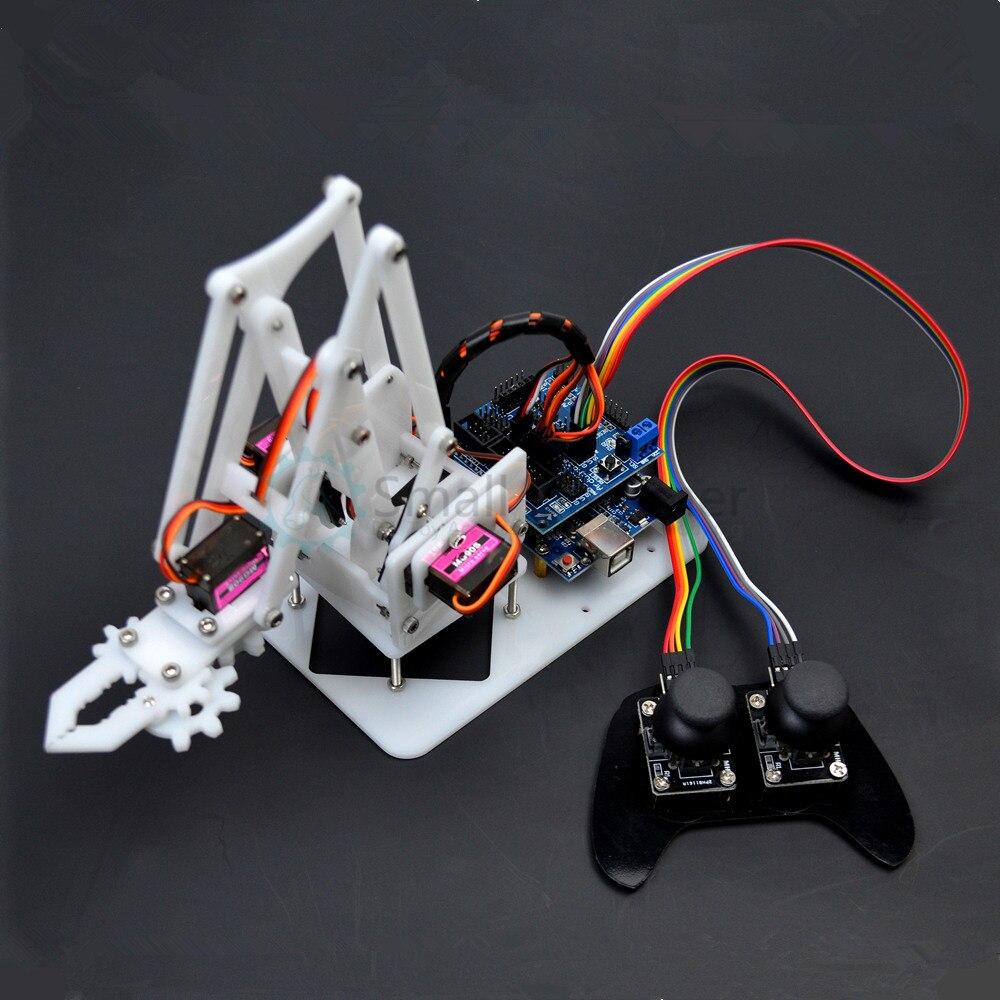 4DOF manipolatore arduino braccio Robotico ps2 telecomando mg90s servo-in Kit di modellismo da Giocattoli e hobby su AliExpress - 11.11_Doppio 11Giorno dei single 1