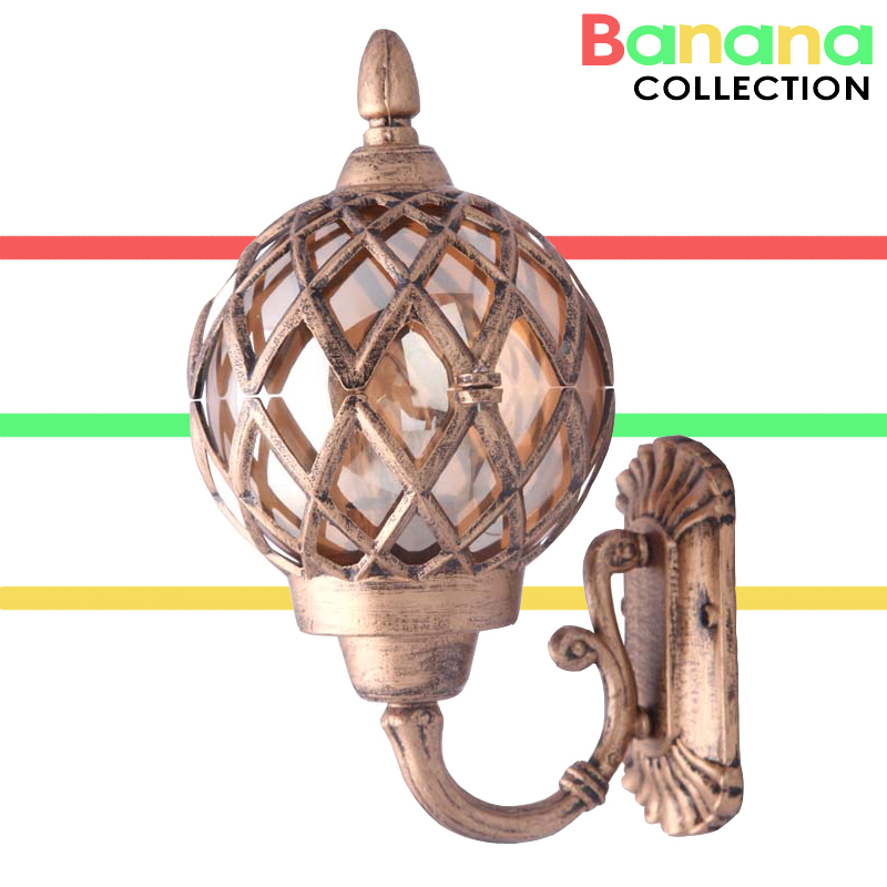 Retro Outdoor Wall Sconce Lighting Balcony LED Wall lamp Waterproof Garden Wall Light Fixtures Metal Glass Porch Lights american vintage wall lamp led outdoor wall sconce lighting ip65 waterproof garden wall light fixtures iron glass porch lights