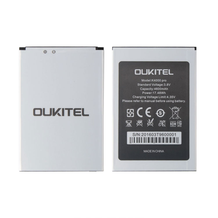 Ocolor for Oukitel K4000 Pro Backup Battery For Oukitel K4000 Pro Mobile Phone