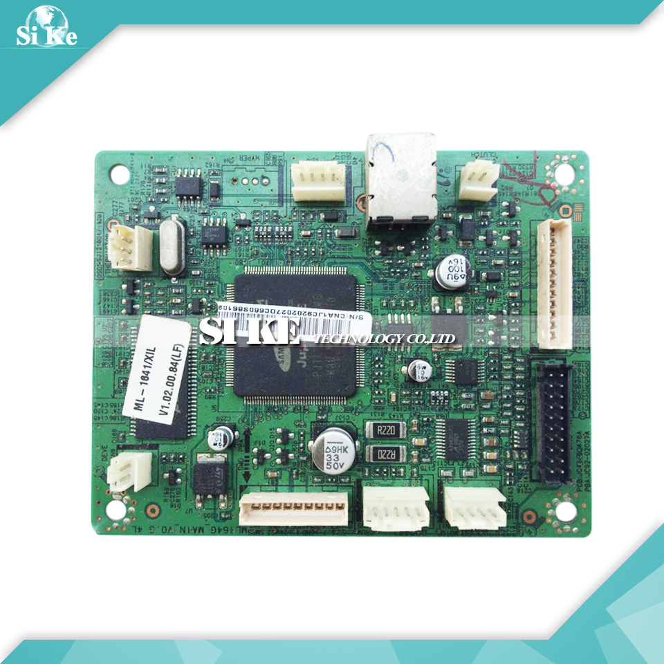Laser Printer Main Board For Samsung ML-1640 ML-1641 ML 1641 1640 ML1640 ML1641 Formatter Board Mainboard Logic Board free shipping mainboard for samsung ml 3310d ml3310 ml 3310 3310d 3310 formatter board main board on sale